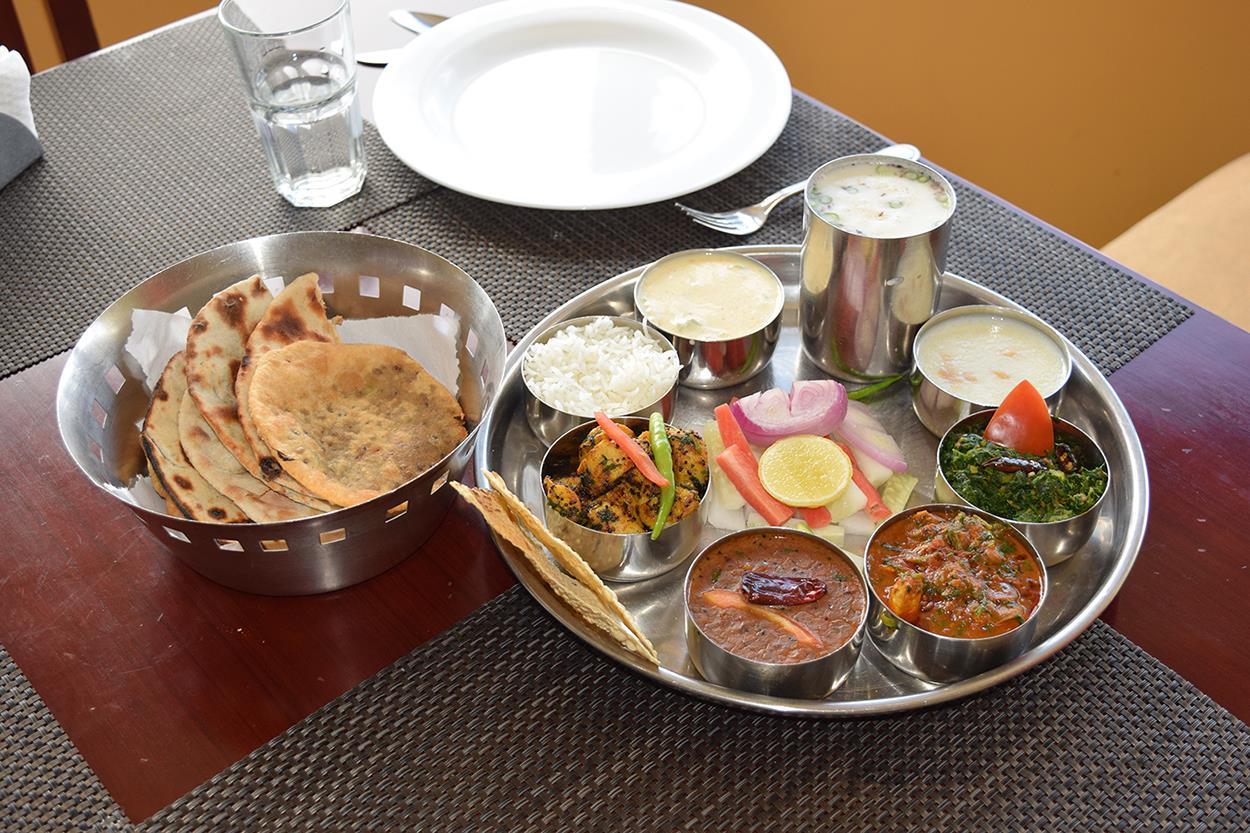 Uttranchali Dishes Thali